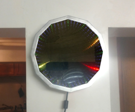 Make an Infinity Mirror Clock