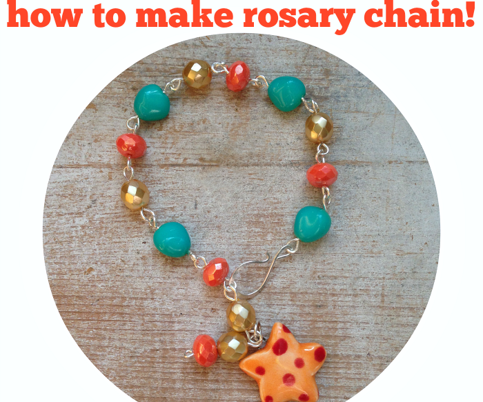How to Make Rosary Chain