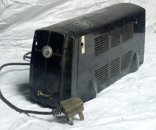 Repurposing a Ups; Making an Inverter the Easy Way.