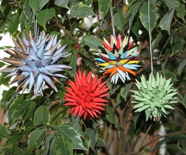 Paper Star Ornaments