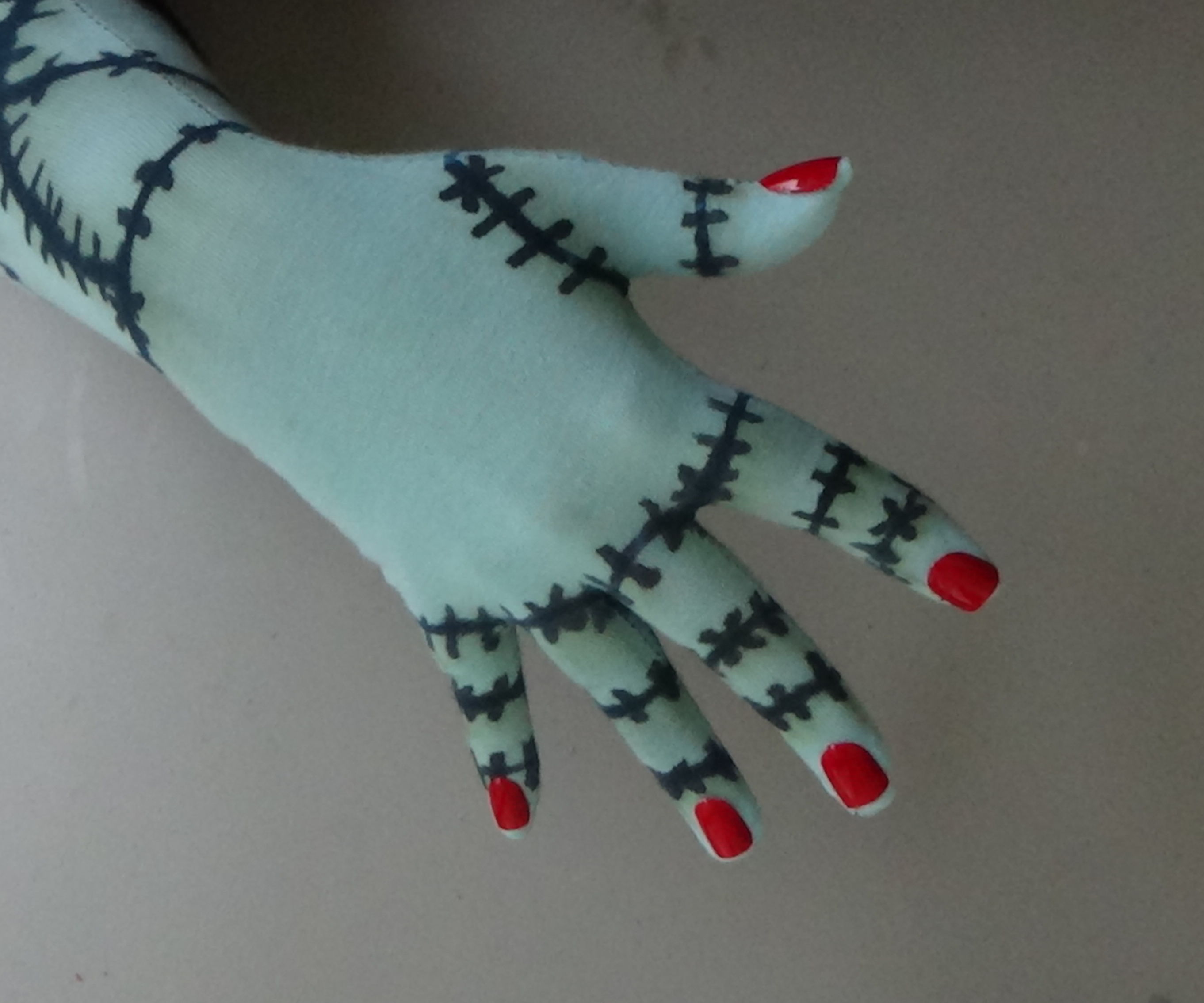Sally Rag Doll Gloves