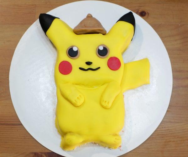 Pokémon Detective Pikachu Cake