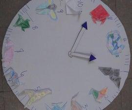 Origami Animal Clock
