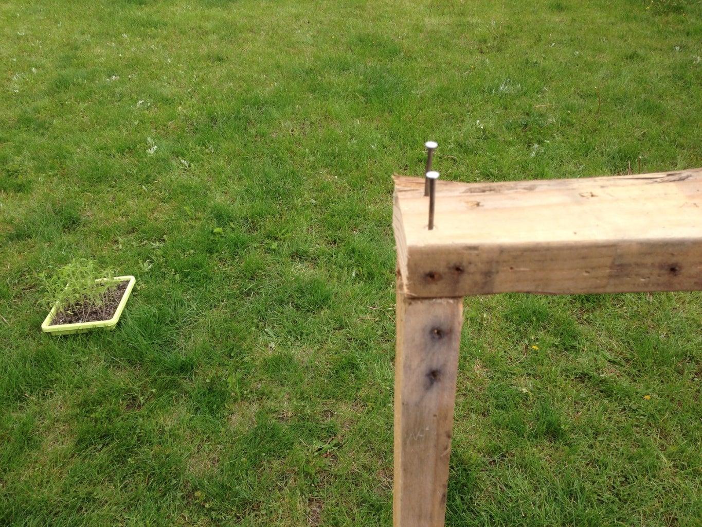 Building the Pallet Frame