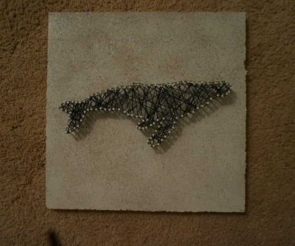 DIY String Art Picture