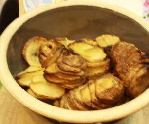 How to Make Spiraled Potatoes