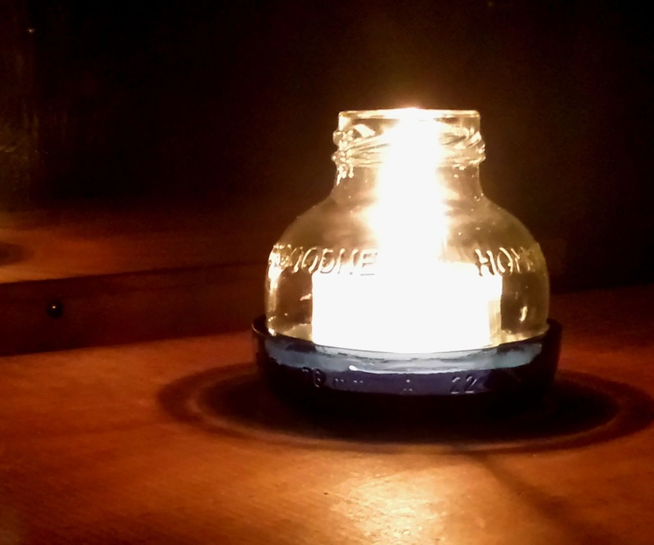 Fire from Soap!  Tealight of the Apocalypse