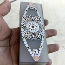 Mosaic Eye Knife Handle Blank