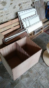 Preparing the Inside of the Frame