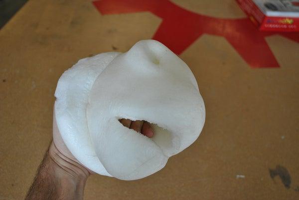 Soft Foam Puppet Part