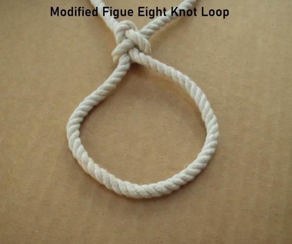 Modified Figure Eight Knot Loop