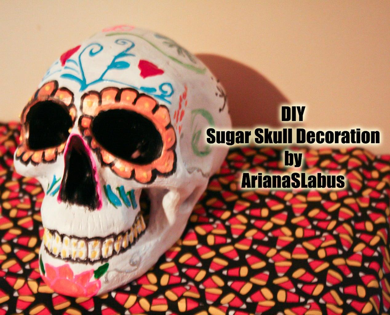 Sugar Skull Decoration