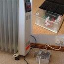 Room Heater Control Via BLE Temperature Sensor