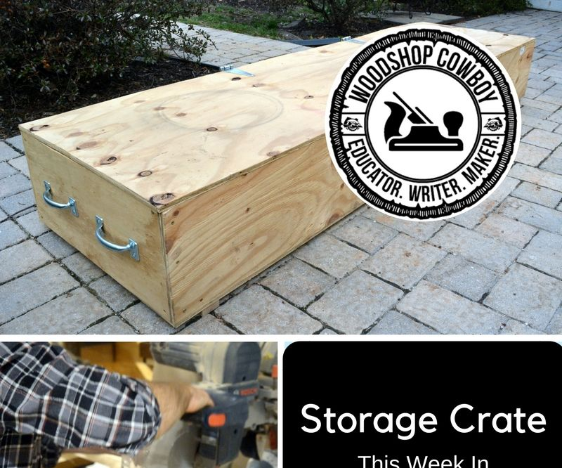 Large Storage Crate