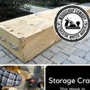 Large Storage Crate
