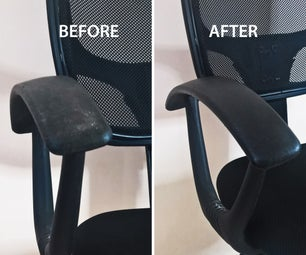 Cleaning and Reviving My Office Chair