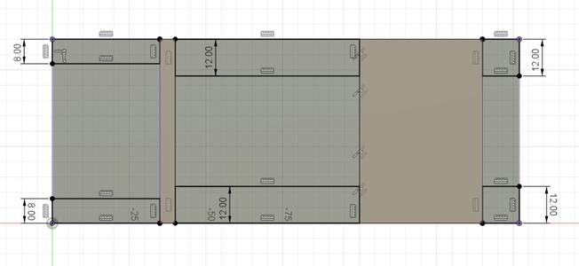 Design Process - Stepper Motor Mount - Side Walls
