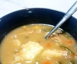 One-pot Chicken and Dumpling Stew