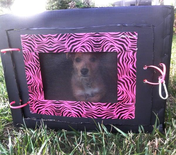 Card Board Dog Crate