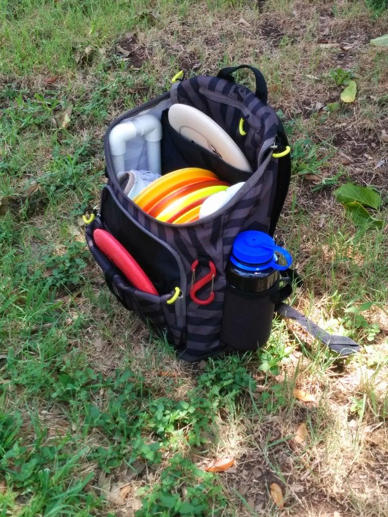 DIY Disc Golf Backpack