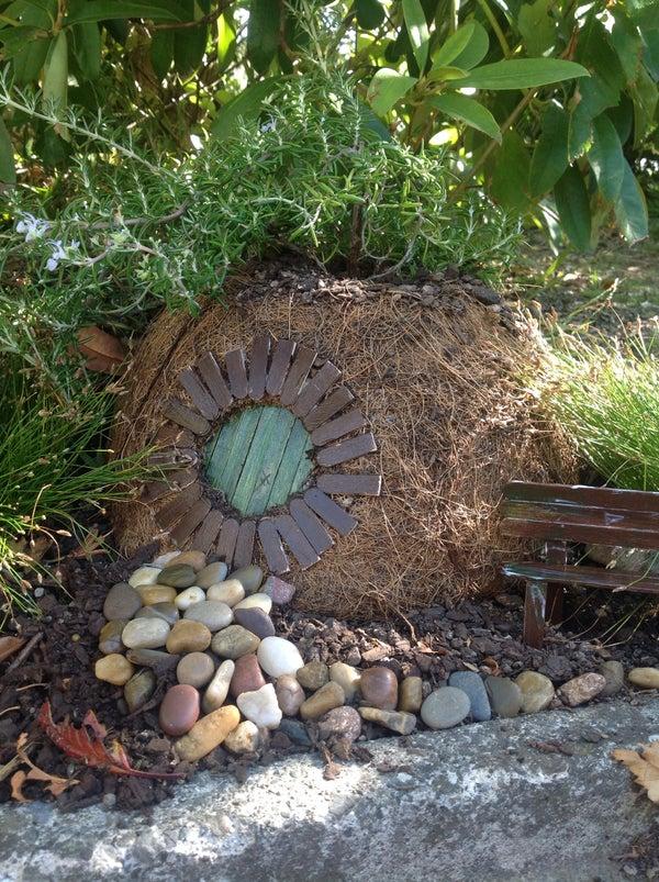 Hobbit Hole Garden Planter