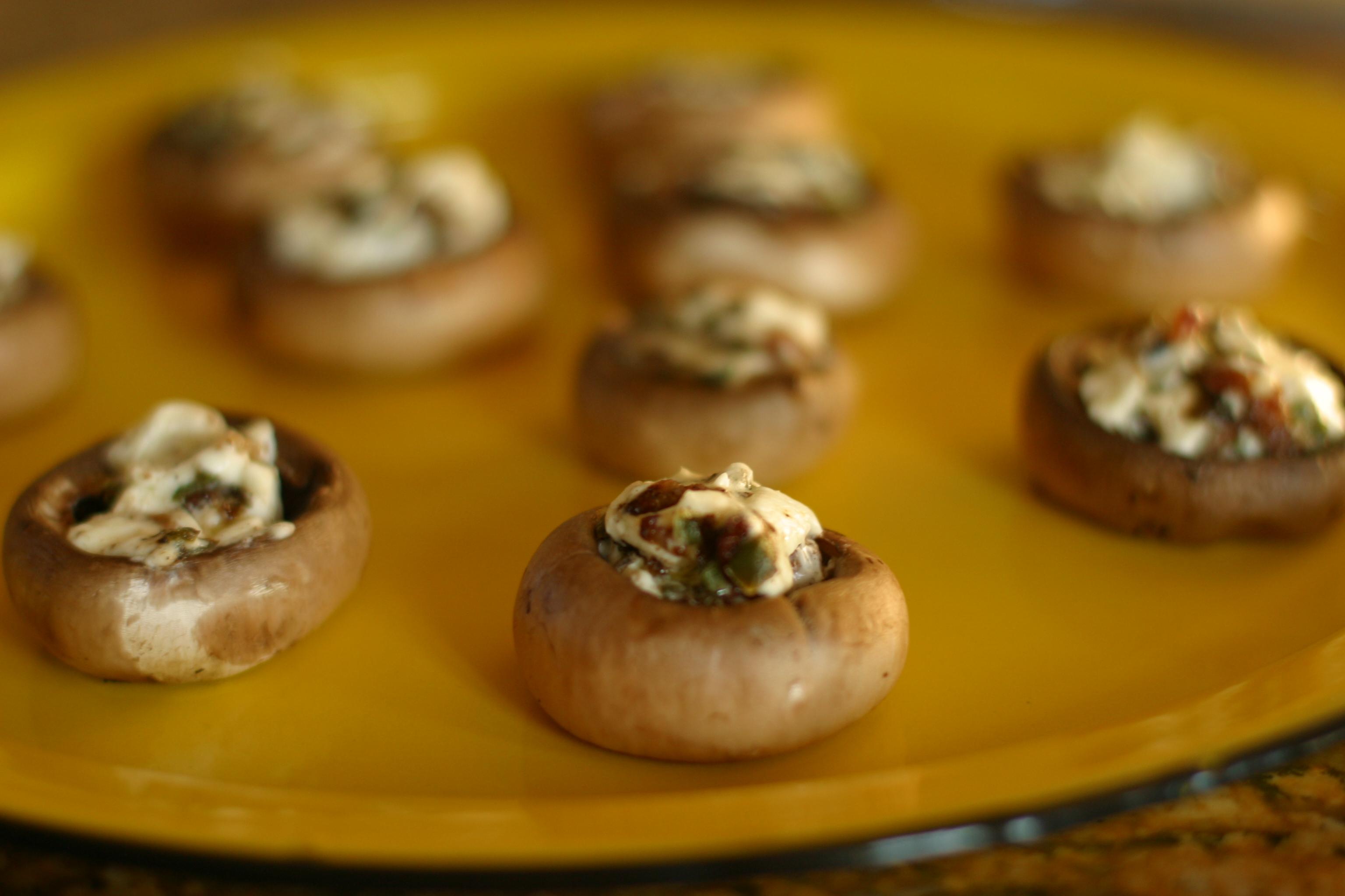 Popper Mushroom Cups