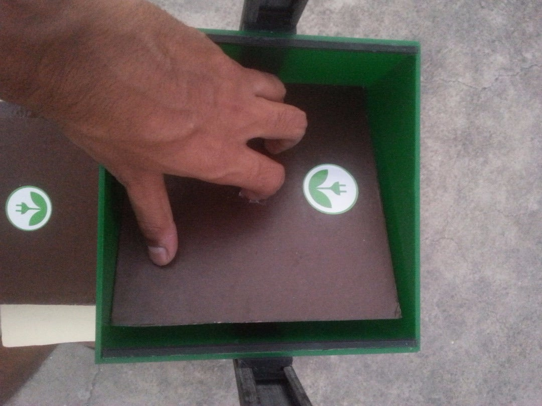 Making the Partition and the Lid for the Box: