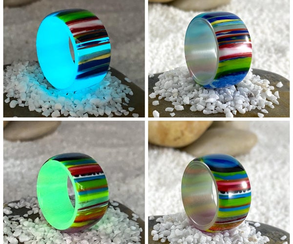 2 Layer Glow Ring - Batteries Not Included