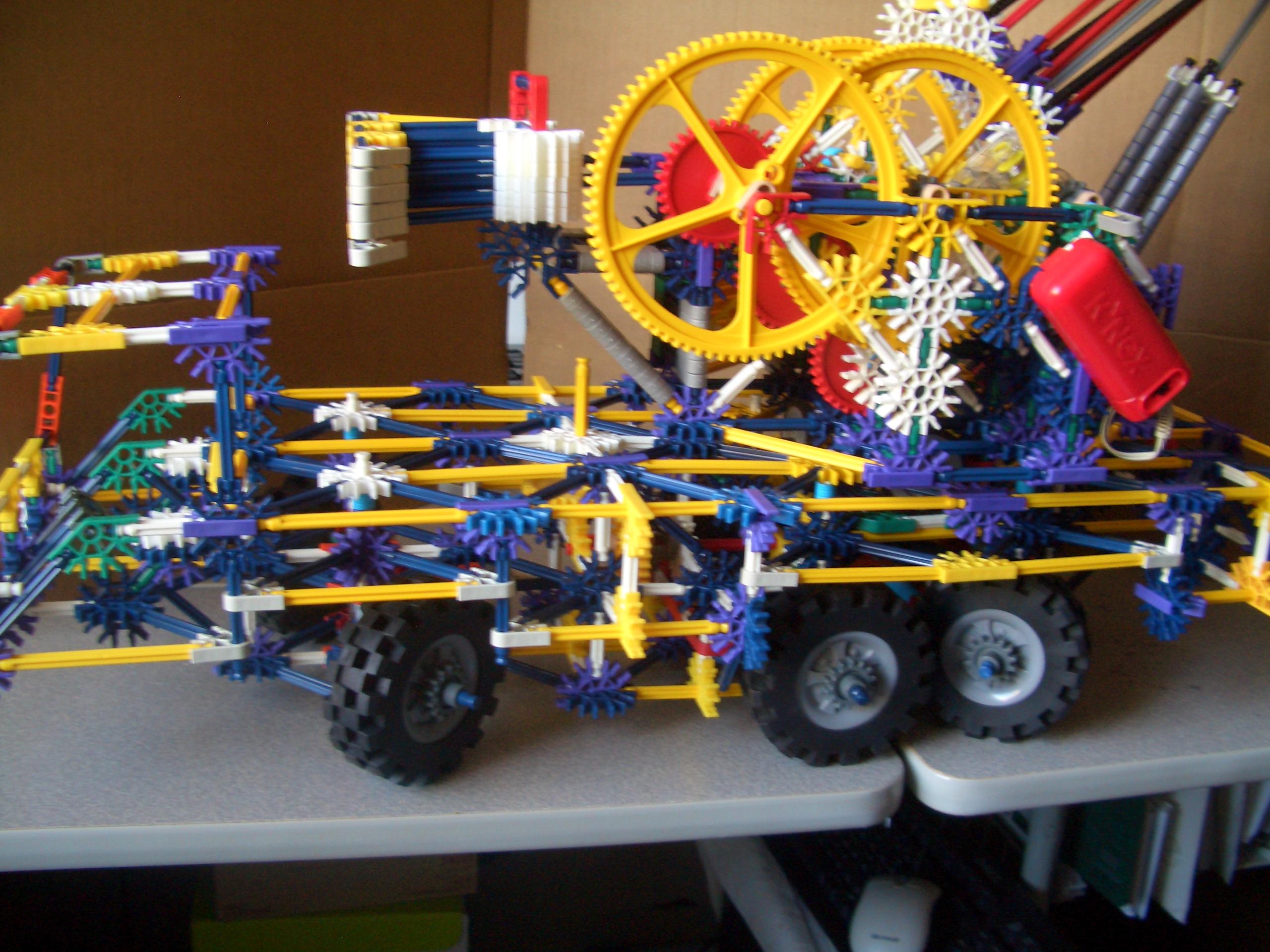 K'NEX Mobile Crane Truck v.3 Instructions