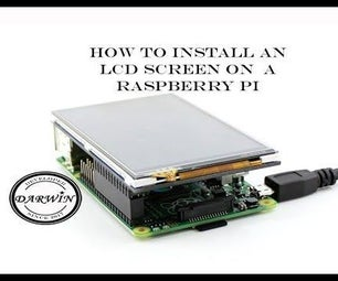 How to Install 3.5 LCD on Raspberry Pi