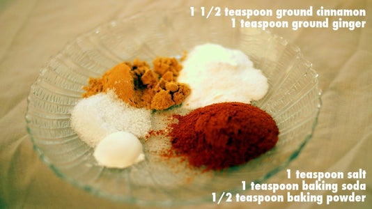 In Bowl #1: Combine Dry Ingredients
