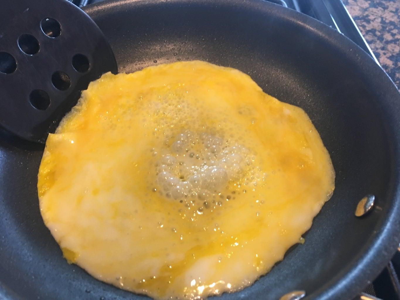Step 9: Cook Egg