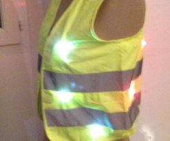 LED Safety Vest (for Bike Riding)