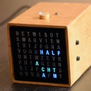 Bedside MP3 Alarm Letter Clock