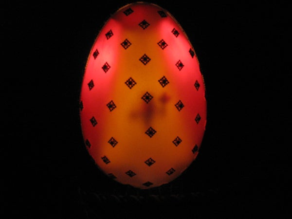 Illuminated Stained Glass Faberge Style Egg - Full Instructable (UPDATED!)