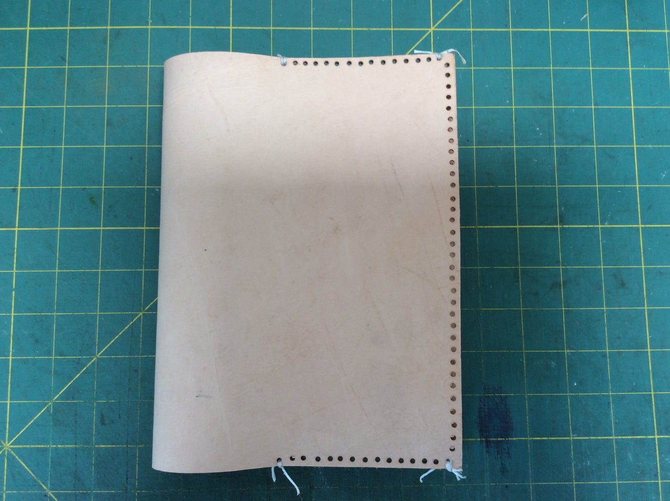 MARKING YOUR LEATHER AND PUNCHING THE HOLES