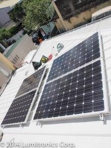 Arduino Yun - Solar Panel Monitoring System