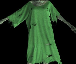 Marvelous Designer 5 Tutorials How to Make Tattered Zombie Clothes