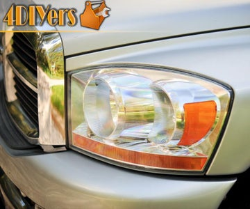 How to Restore Faded Hazy or Yellowing Headlights by Wet Sanding and Polishing