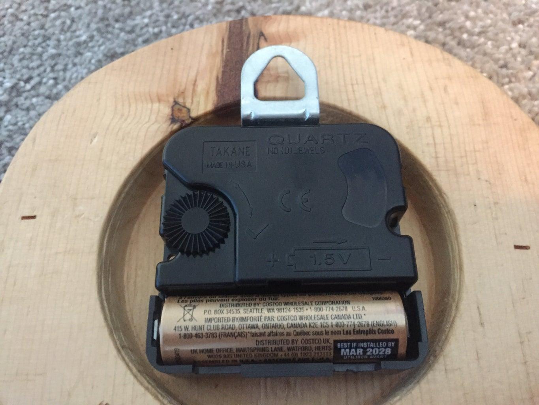 Installing the Clock Motor