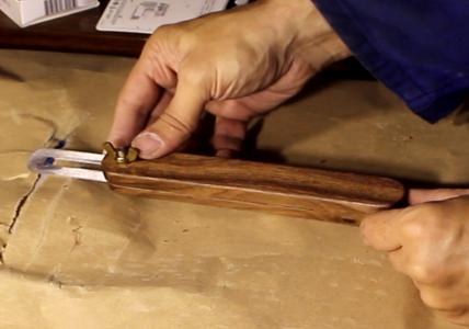 A Simpler Sliding Bevel for Woodworking