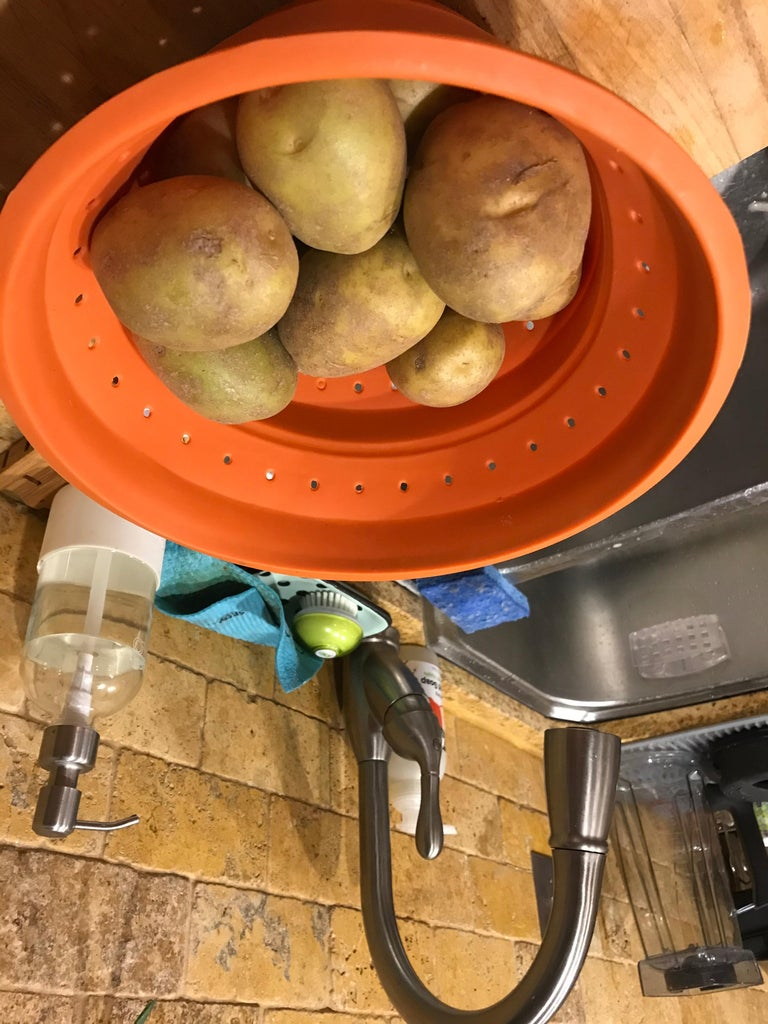 Cooking the Potatoes