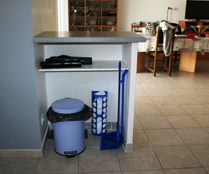 DIY- Useful Kitchen Separation