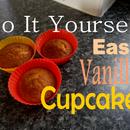 DIY Easy Vanilla Cupcakes