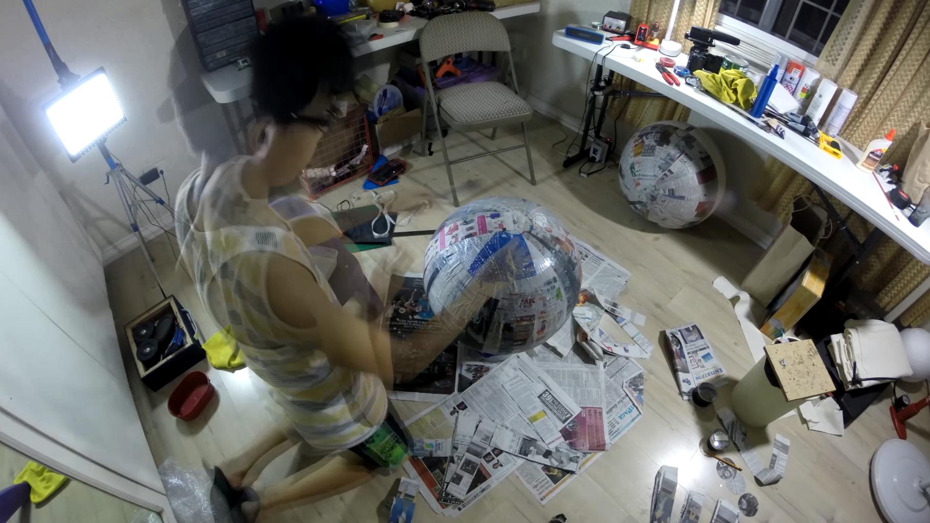 Make the Paper Mache