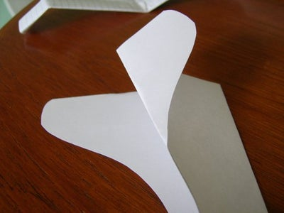 Fold the Tailplanes to Shape, and Try Out!