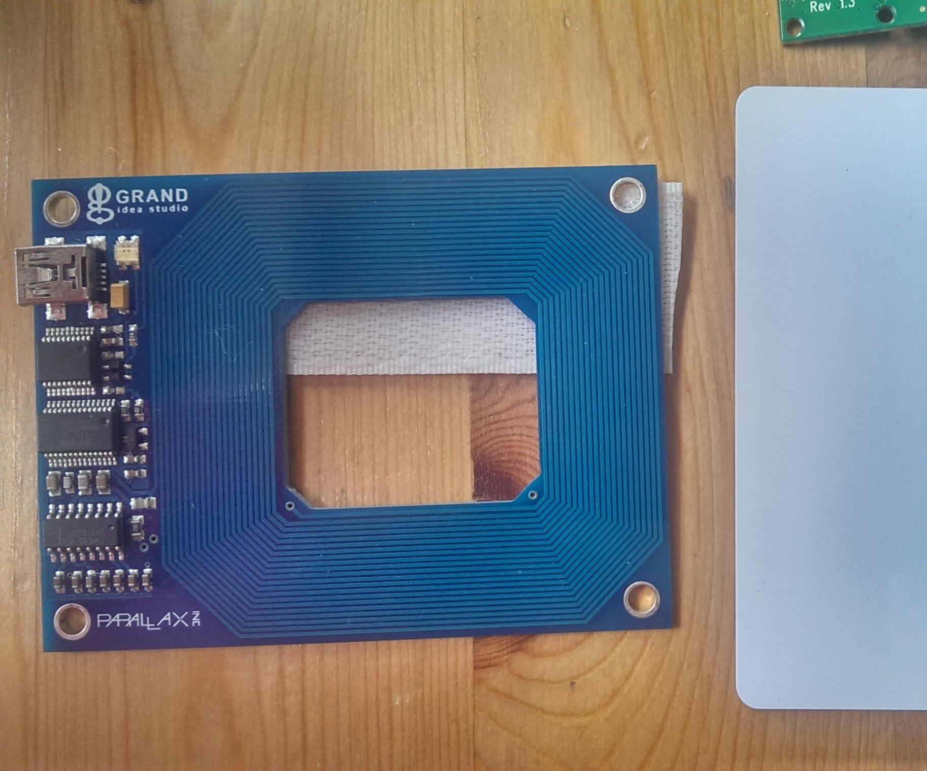 Raspberry Pi RFID triggered email