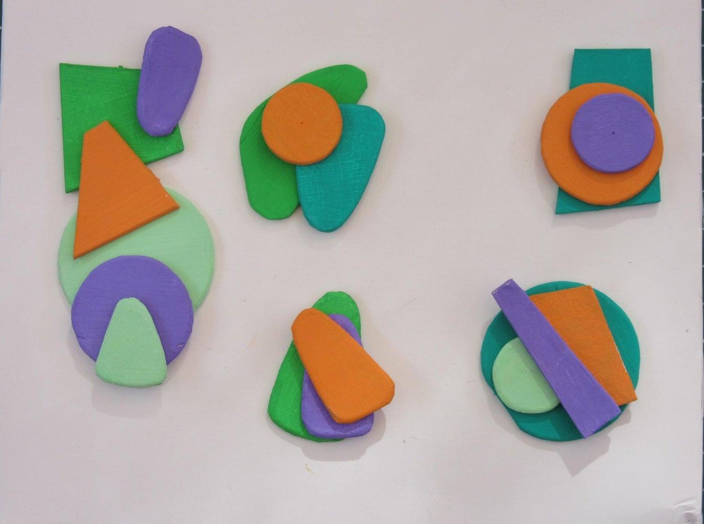 Assembling the Colors Harmonies