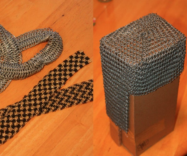 How to Make Chainmail (European 4-in-1 Weave)