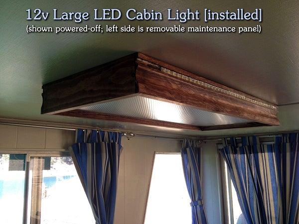 DIY | 12v Large LED Cabin Light